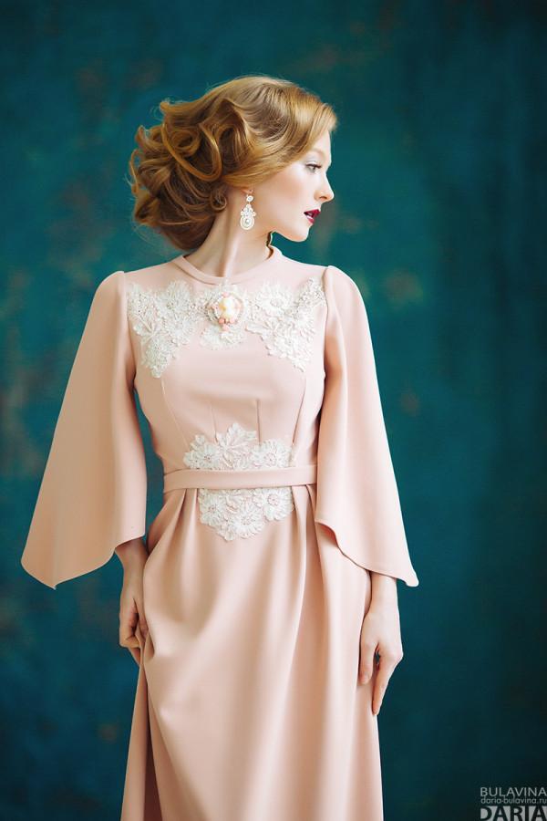 a89577ceaa57a19 нежно-розовое-платье-e1439737627973.jpg. Классические длинные платья  подходят для ...