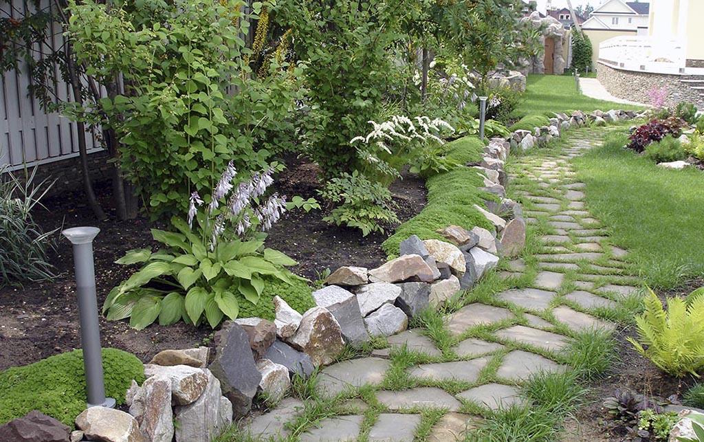 Бордюры сада своими руками